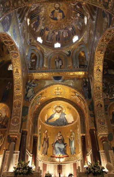 世界遺産 シチリア島パレルモのアラブ・ノルマン様式建造物群およびチェファル大聖堂とモンレアーレ大聖堂