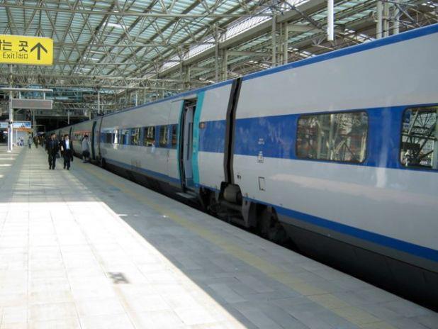 韓国での鉄道の旅