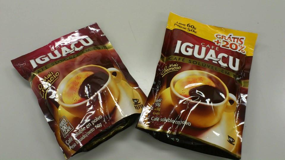 ブラジルのインスタントコーヒー『CAFE IGUACU(カフェ イグアス)』