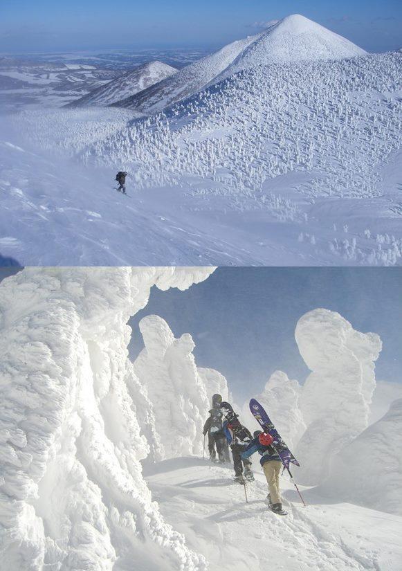 ゲレンデを飛び出して大自然の中でパウダースノーを滑ってみよう。