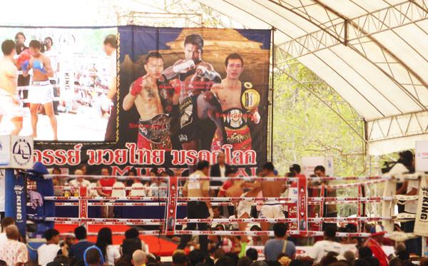 タイの国技・ムエタイで熱く!