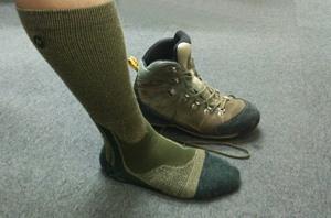 山歩き初めて講座 登山用靴下の選び方