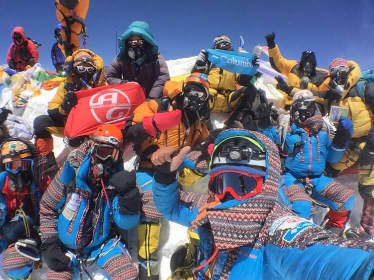 なすびさんエベレスト登頂おめでとう!!