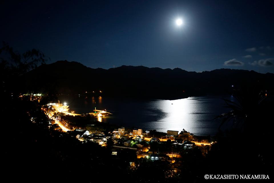 小笠原諸島の夜景