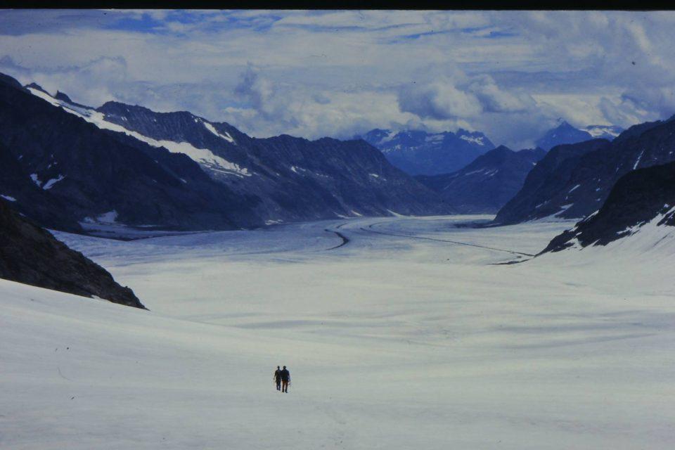 ヨーロッパアルプス最大!歩ける氷河『アレッチ氷河』