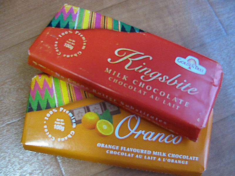 本場ガーナのチョコレート