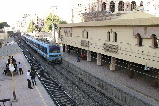 エジプトの鉄道について
