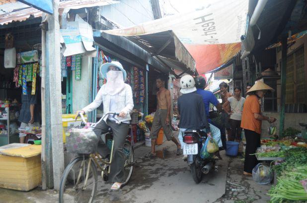 ベトナム・カントーでのサイクリング