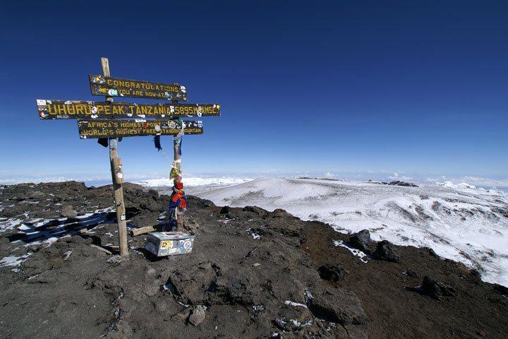 ウフルピーク登頂