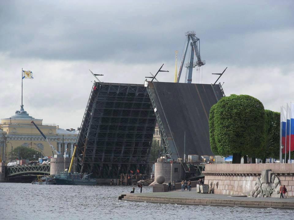 サンクトペテルブルクの跳ね橋