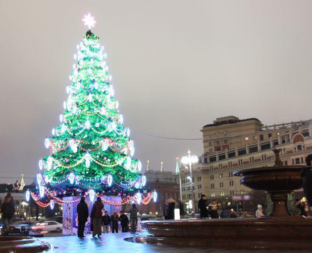 モスクワのクリスマス風景