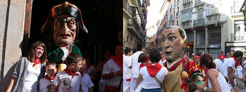 スペインのお祭りにはかかせない「ヒガンテス」(巨人人形)