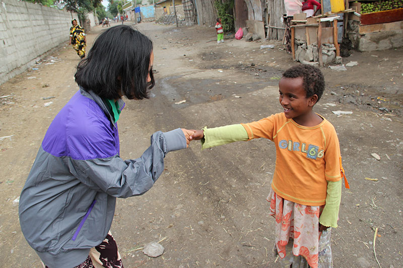 挨拶 ~エチオピアにて~