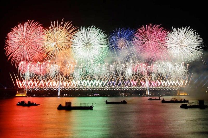 花火好きに見せたい釜山世界花火大会