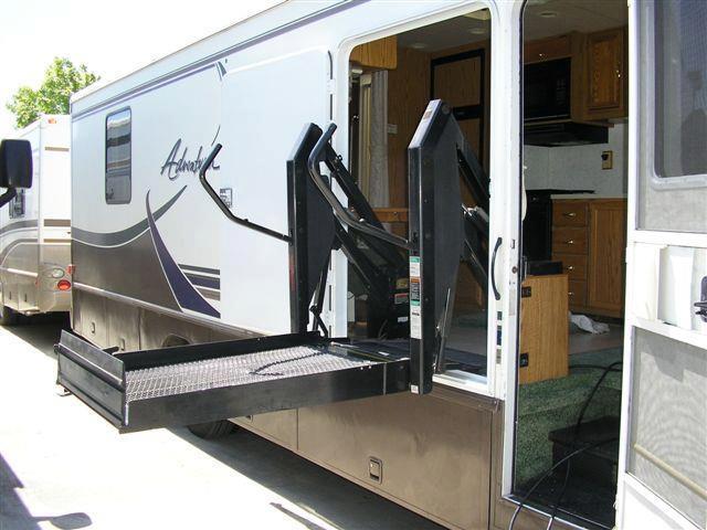 バリアフリー大国アメリカでレンタルできる、車いす対応のモーターホーム