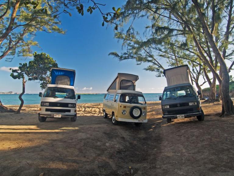 ハワイで楽しむキャンピングカーの旅