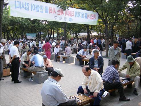 日本のお年寄りに見せたい韓国のお年寄り