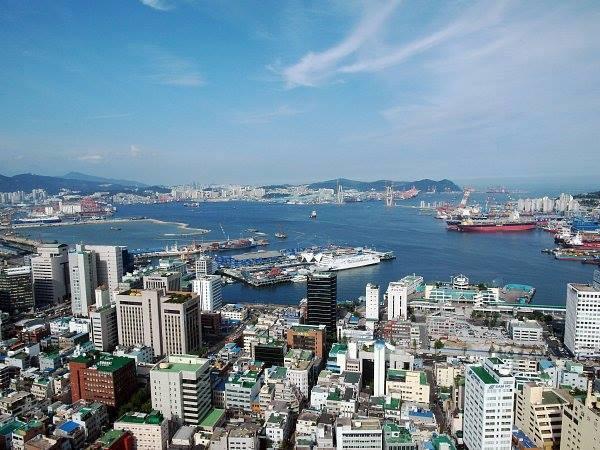 通信使が日本に向かった釜山港