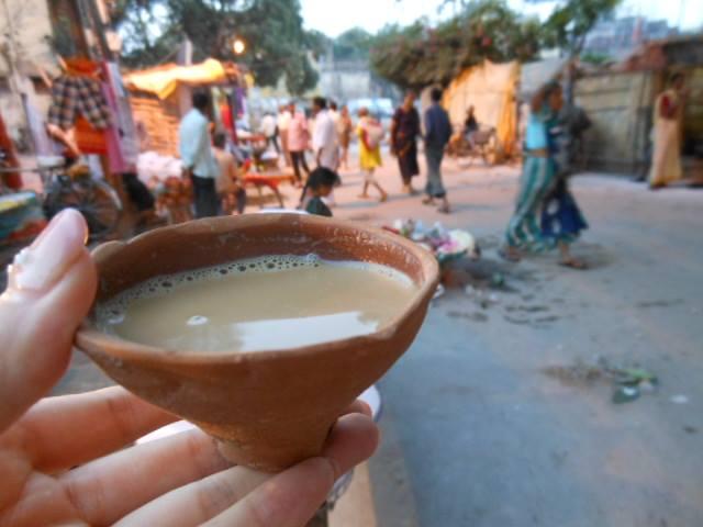 インドでチャイ・ブレイク