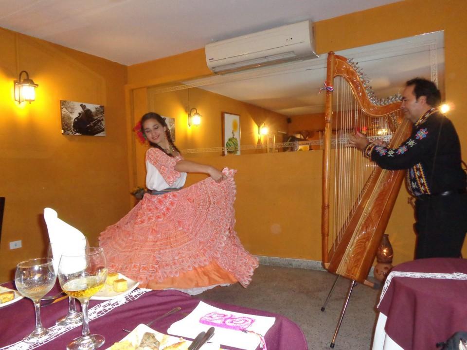 パラグアイの楽器アルパ