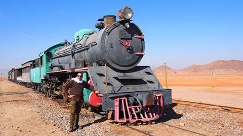 ヨルダンで走るヒジャーズ鉄道について