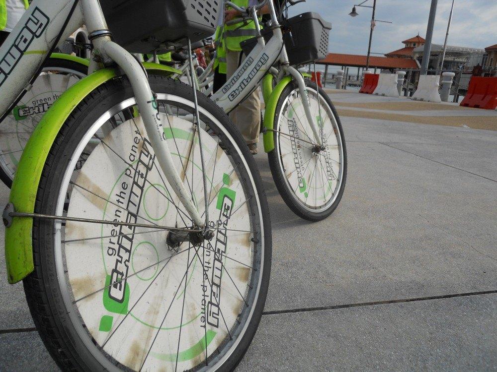マレーシアの世界遺産『ジョージタウン』でサイクリング