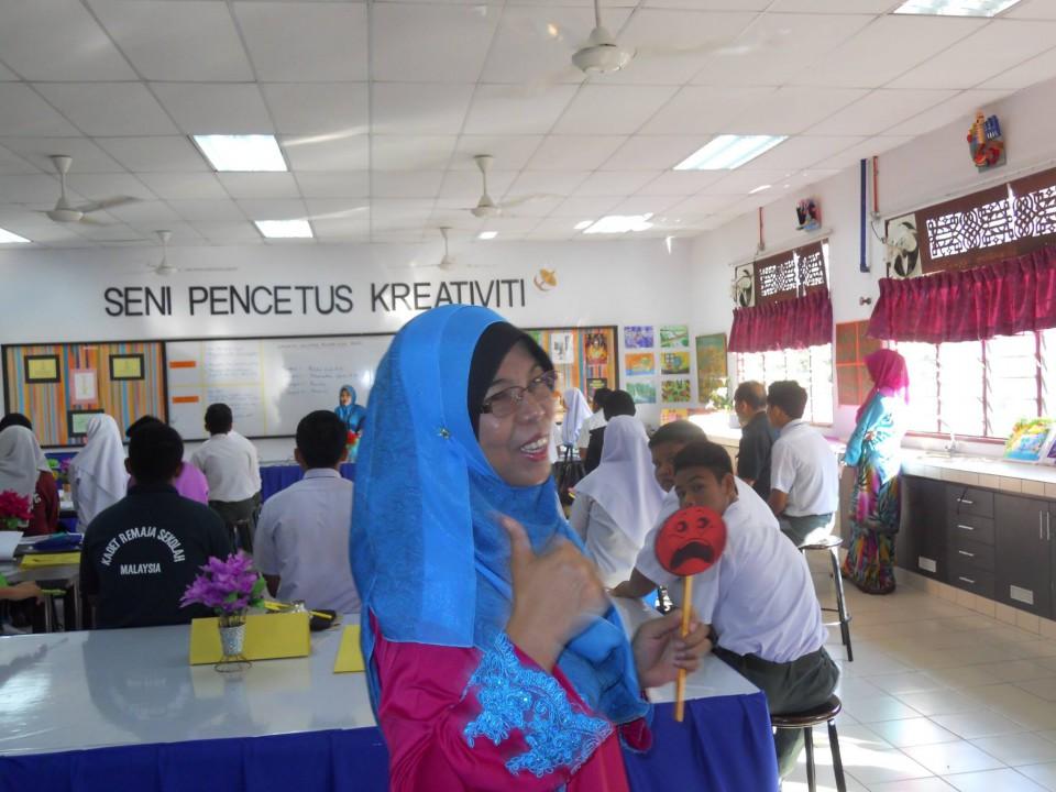シャイな私にぴったり・・・ マレーシアの学校事情