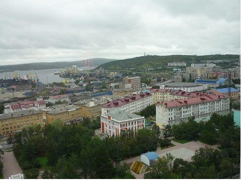 北極圏最大の都市ムールマンスク