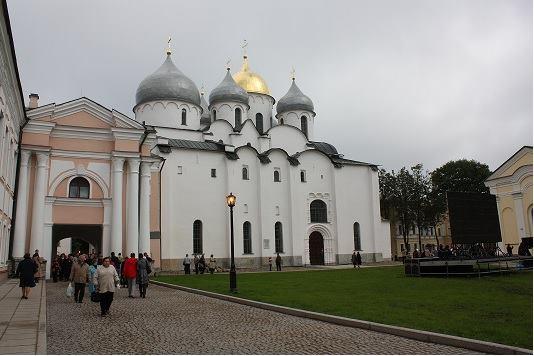 ロシア最古の都市ノーヴゴロド