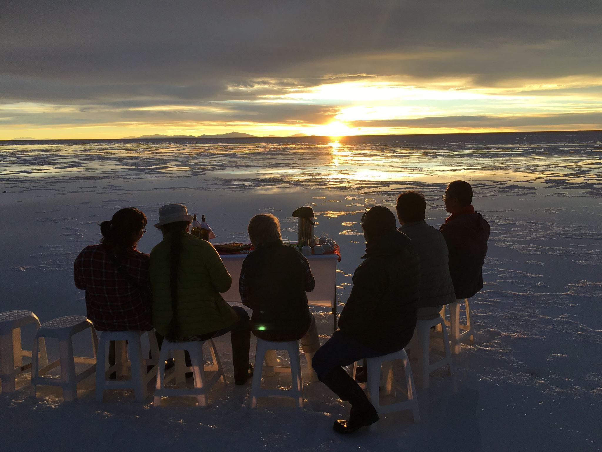 ボリビア・ウユニ塩湖
