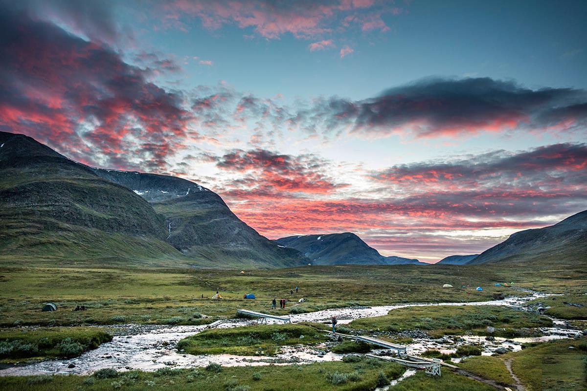 ヨーロッパ最初の国立公園アビスコ