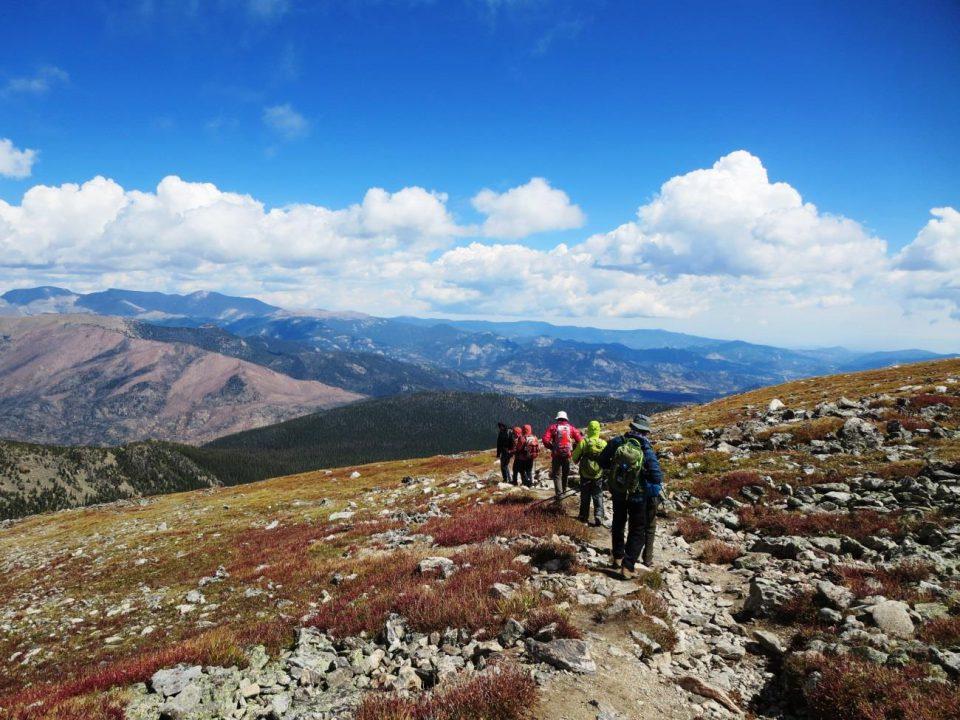 コロラド州でのハイキング『ガーデン・オブ・ザ・ゴッズ』