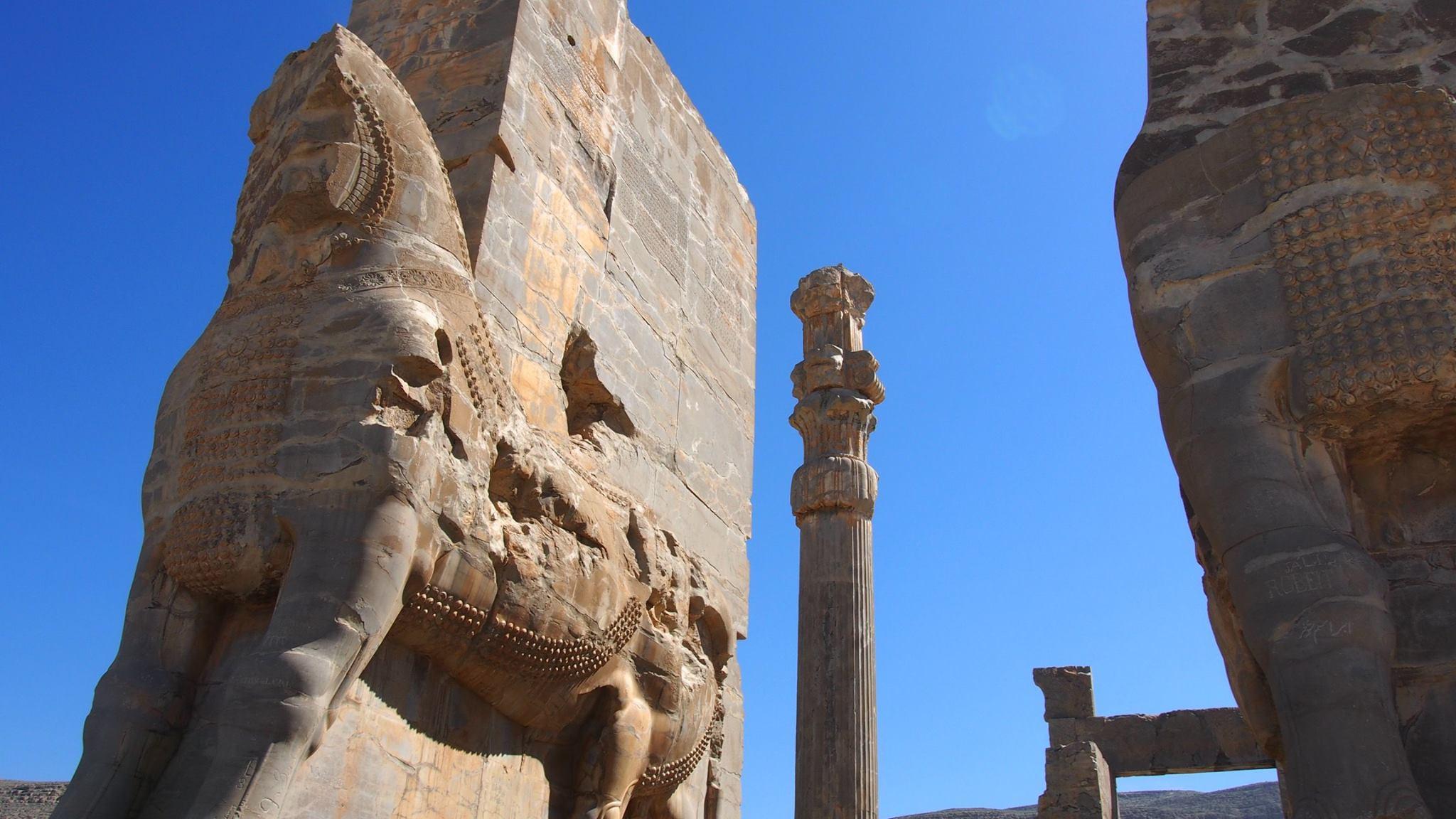 中東の3P遺跡のひとつ・イラン『ペルセポリス』