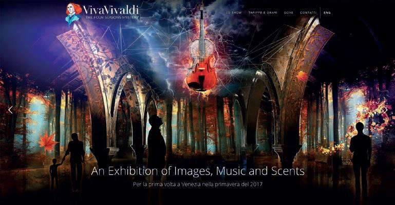 新音楽アトラクション『Viva Vivaldi-Four Season's Mystery』がヴェネツィアにオープン