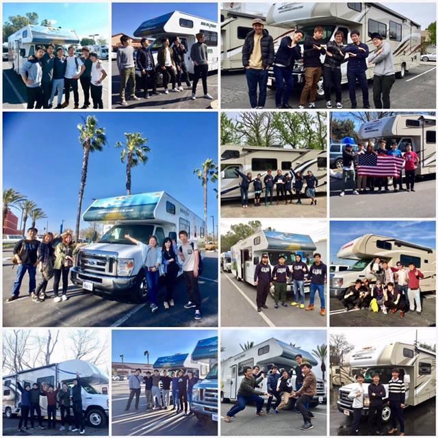 卒業旅行でのアメリカ モーターホーム(キャンピングカー)の旅