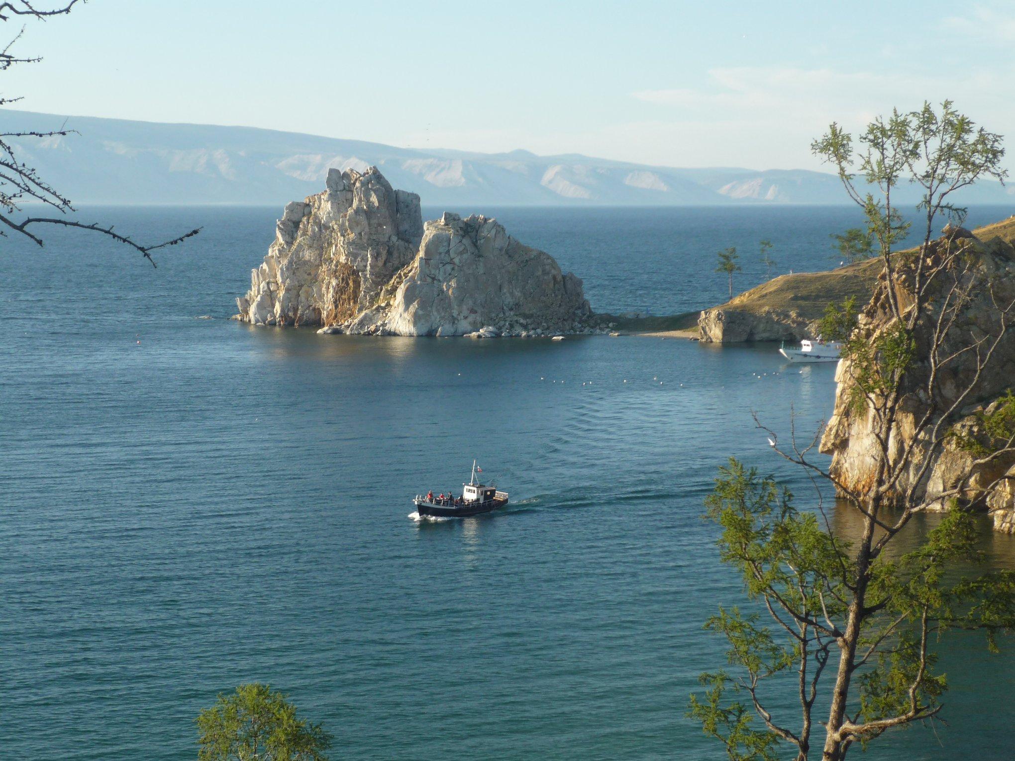 ロシアのパワースポット、オリホン島