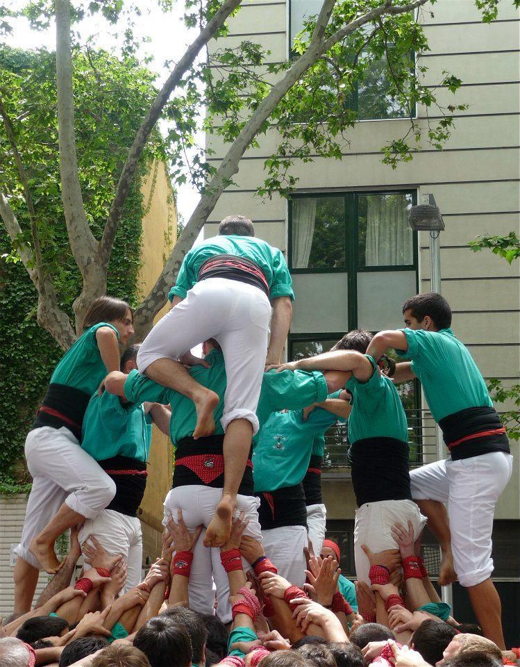 スペインのお祭り『人間の塔』