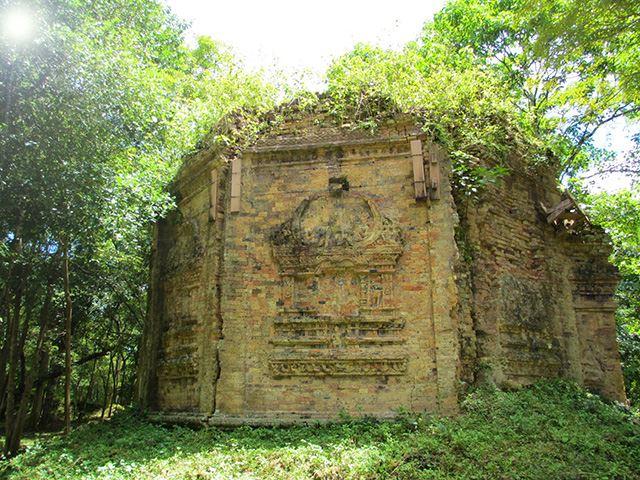 カンボジアの世界遺産『サンボールプレイクック』