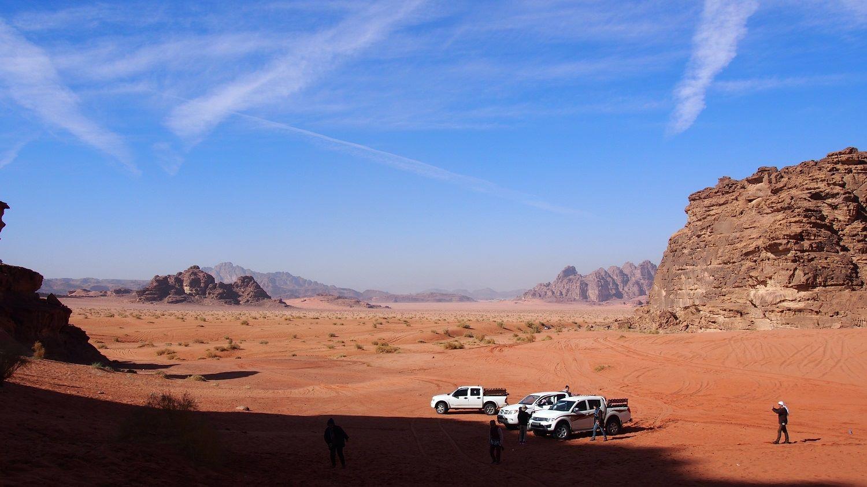 アラビアのロレンスの撮影地、ヨルダンの『ワディ・ラム』