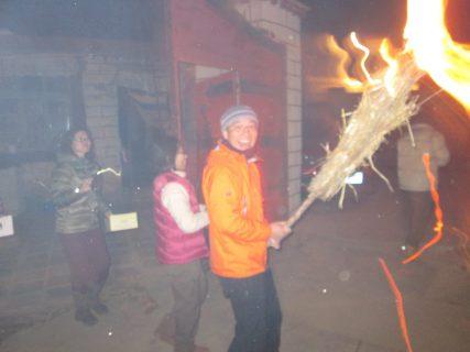 チベットのお正月「ロサール」の行事「グトー(晦日)」