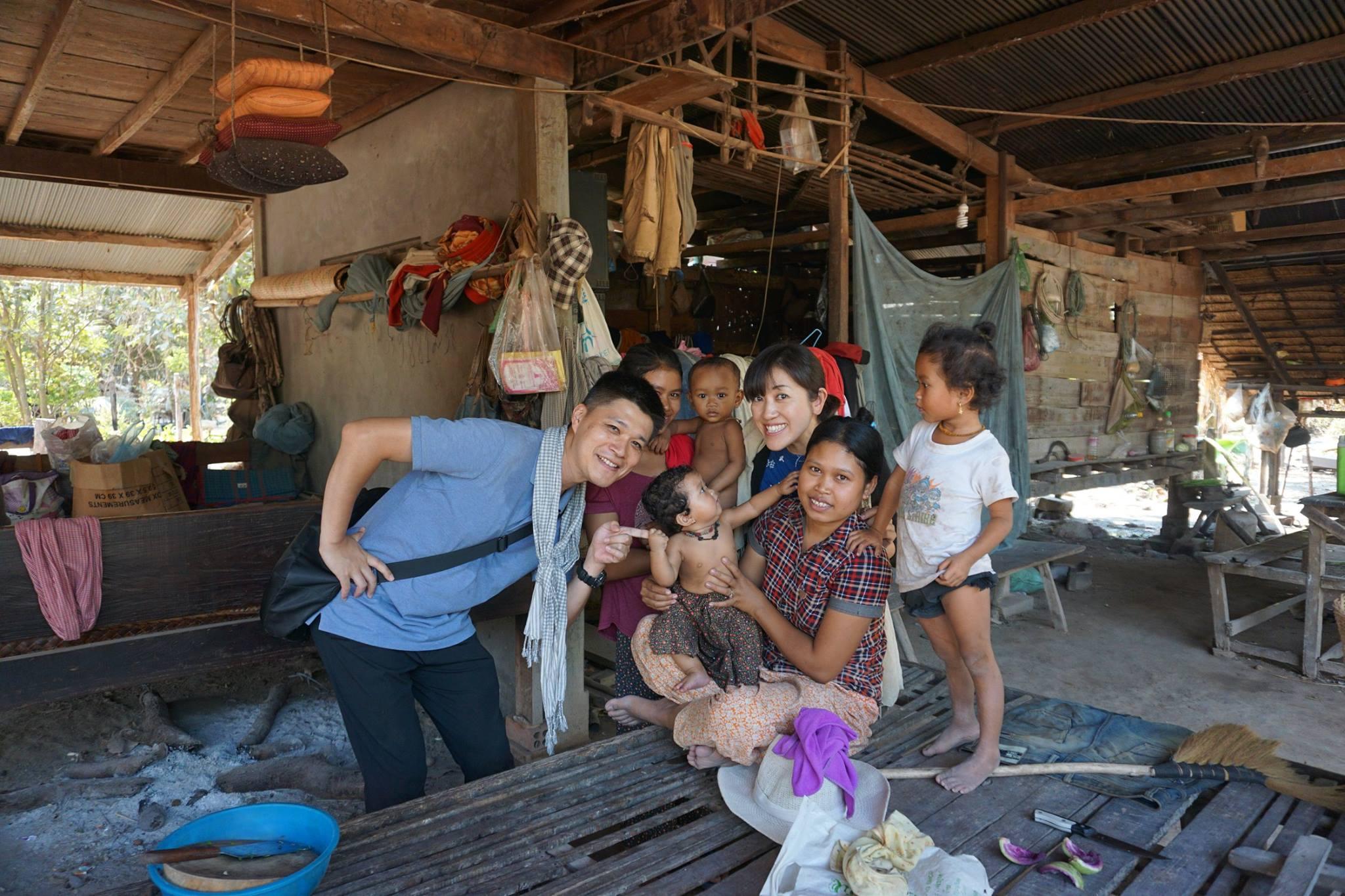 カンボジア人の生活体験が出来るプログラム『体験の旅シリーズ』