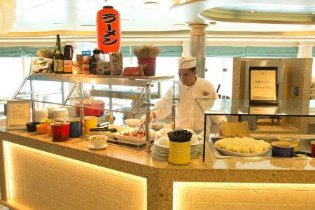外国船の日本食事情